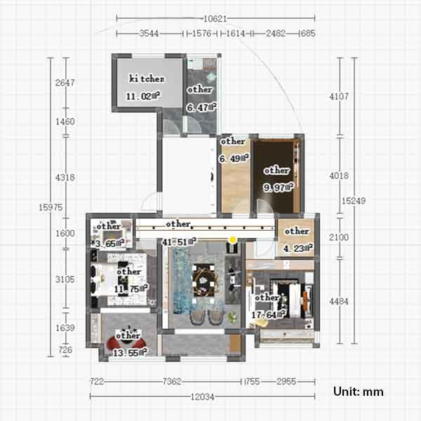 farmhouse kitchen cabinets size