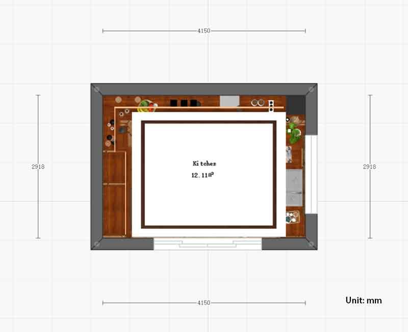 kitchen cabinet styles size